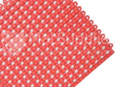 Grid Lock Tile - Red